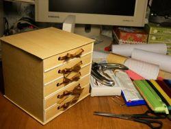 комод из картона своими руками 25
