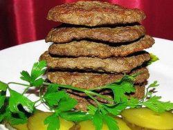 котлеты из печени говяжьей рубленные