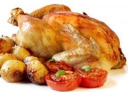 Курица запеченная калорийность