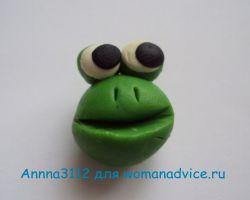 лягушка из пластилина 12