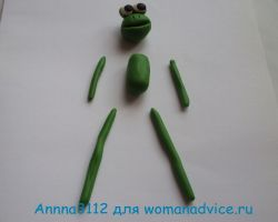 лягушка из пластилина 13