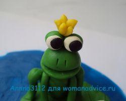 лягушка из пластилина 20