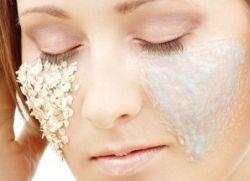 Очищающая маска для лица чувствительной
