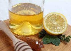 Мед лимон оливковое масло