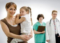на приеме у детского гинеколога