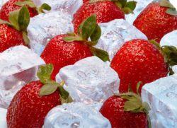 Как заморозить клубнику с сахаром на зиму в холодильнике