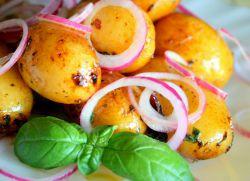 Молода картопля в мультиварці