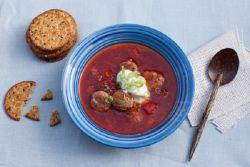 Рецепт вкусного борща с капустой и свеклой
