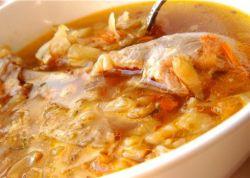 суп из свежей капусты с курицей