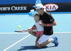 Обучение детей большой теннис