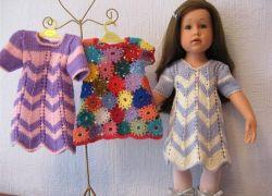 одежда для кукол крючком