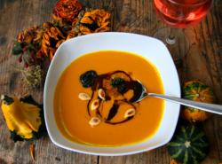 приготовить тыквенный суп пюре со сливками