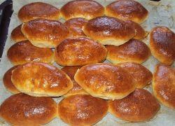 рецепт пирожков на кефире с фото в духовке