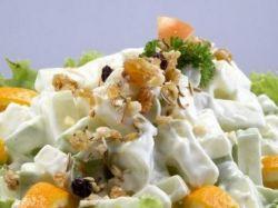 фруктовый салат рецепт со сметаной