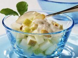 фруктовый салат со сметаной