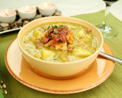 гороховый суп с рулькой рецепт
