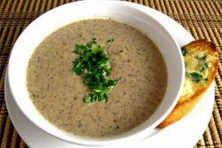 грибной суп пюре из вешенок