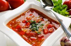 как приготовить холодный томатный суп