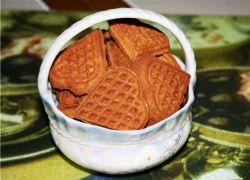 как приготовить печенье в вафельнице