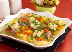 как приготовить суп с клецками