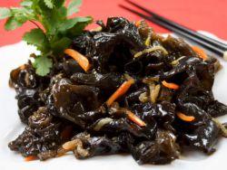 корейский салат из сушеных грибов