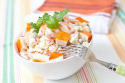 Крабовый салат с яблоком: разнообразие рецептов