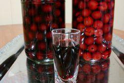 наливка из замороженных ягод