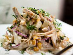 салат из вешенок рецепт фото