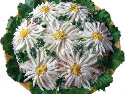Салат Ромашковое поле — ярко и вкусно
