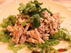 Салат с языком и ветчиной: необычайно вкусные рецепты