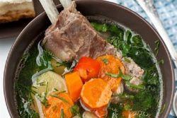 Рецепт шурпы Как выбрать баранину, как варить бульон