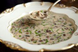 грибной суп из вешенок рецепт