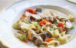 суп на бульоне из индейки