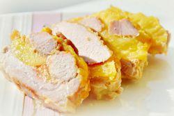 свинина с ананасами