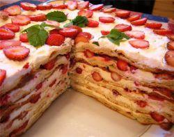 слоёные торты рецепты с фото
