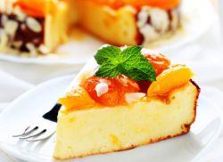 творожная запеканка с персиками рецепт