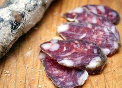 Домашняя колбаса вяленая