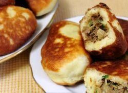 жареные пирожки с мясом рецепт