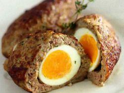 зразы мясные с яйцом рецепт в духовке с фото
