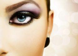 палитра теней для голубых глаз