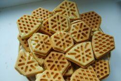 печенье на сковороде-форме