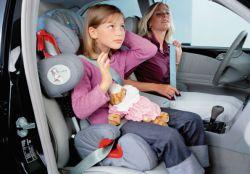 перевозка ребенка на переднем сиденье автомобиля