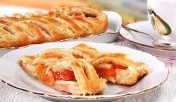 пирог с курагой и яблоками