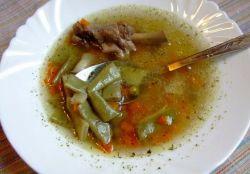 простой гороховый суп с уткой