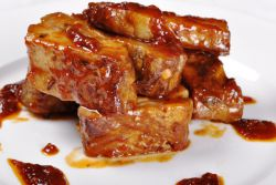 говяжьи ребрышки в медово горчичном соусе рецепт