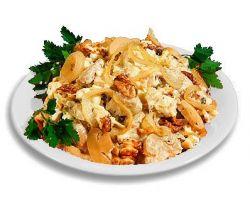 рецепт салата с курицей и фасолью
