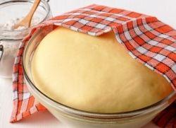 рецепт сдобного теста для пирожков