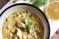 рисовый суп с яйцом рецепт