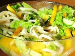 салаты из кальмаров простые рецепты