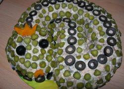 Рецепты салатов на стол к дню рождения